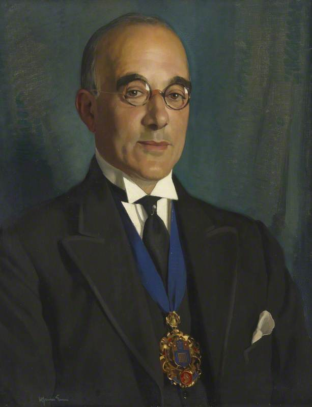 Councillor Jacques Abady, Mayor of Westminster (1927–1928)