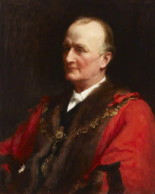 Right Reverend Bishop Russell Wakefield, Mayor of St Marylebone (1903–1904)