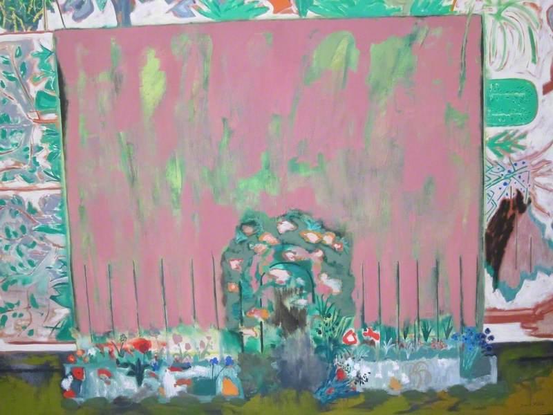 Pink Garden (The Garden of Elizabeth Blackadder and John Houston)