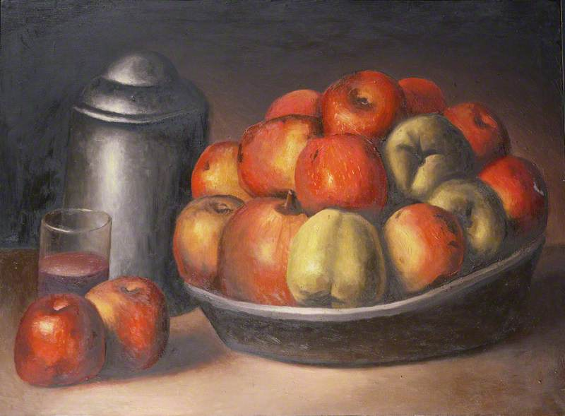 Still Life with Apples and Pomegranate