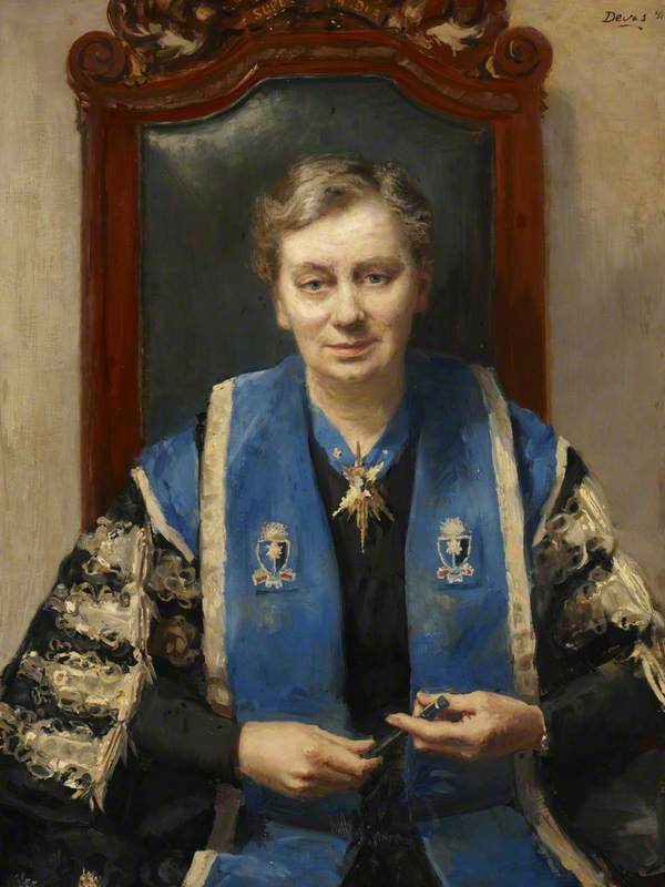 Dame Hilda Lloyd (1891–1982), DBE, President of the Royal College of Obstetricians and Gynaecologists (1949–1952)