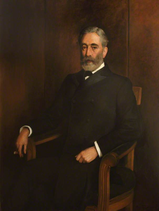 William Hunting, FRCVS, President (1894–1895)