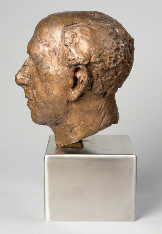 Sculptured Head of Baron Zuckerman of Burnham Thorpe (1904–1993)