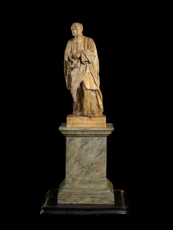 Sculptured Figure of Sir Isaac Newton (1642–1727)