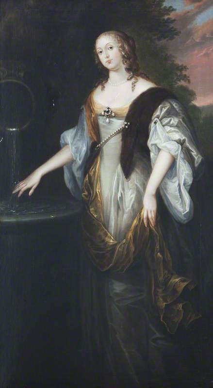 Portrait of 'Woman with a Ring'