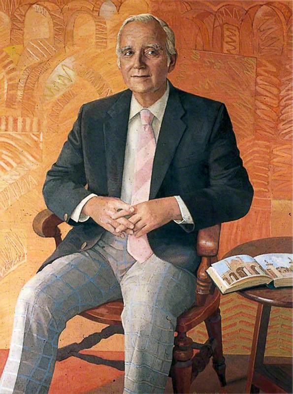 Angus Ross, Treasurer of Christ's Hospital