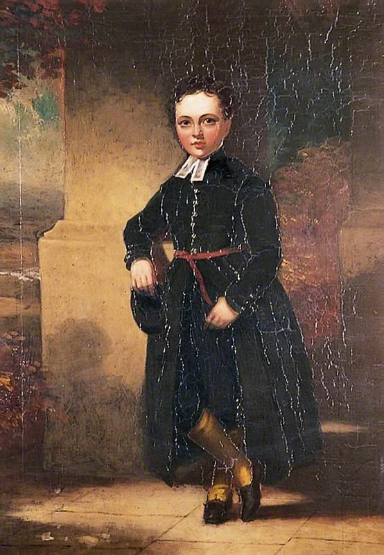 John Guy Webster as a Christ's Hospital Boy