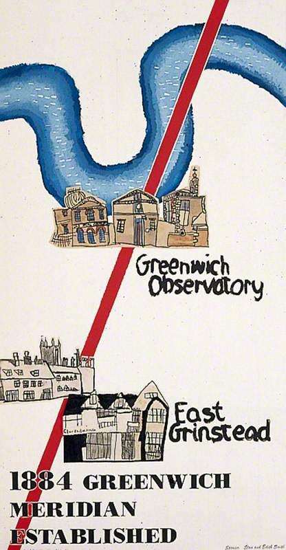 1884 Greenwich Meridian Established