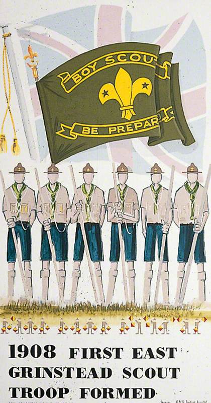 1908 First East Grinstead Scout Troop Founded