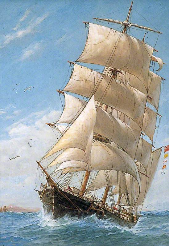 The Barque 'Trossachs'