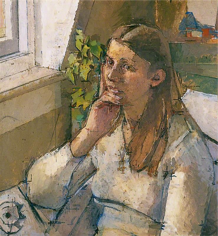 Girl Reflecting