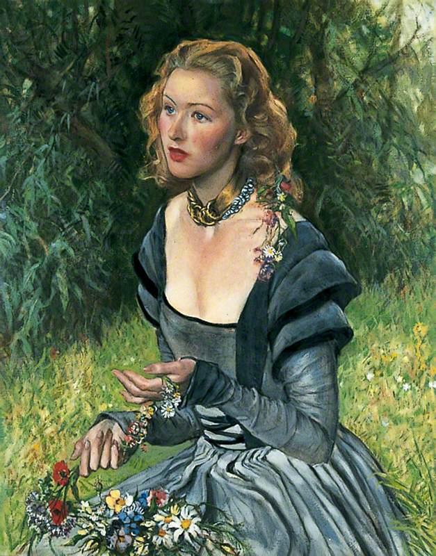 Dorothy Primrose as 'Ophelia'