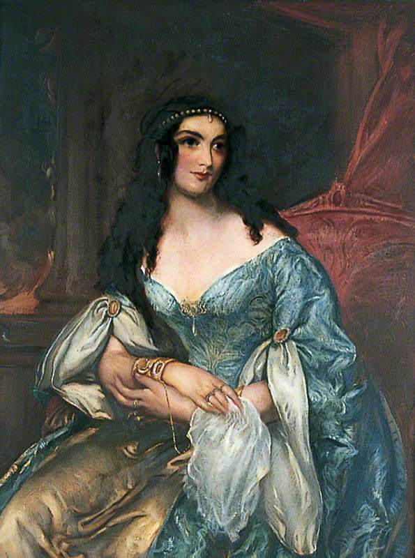 Miss Mordaunt (Mrs Nisbett), as Constance in 'The Love Chase', Worthing Theatre, 21 September 1838