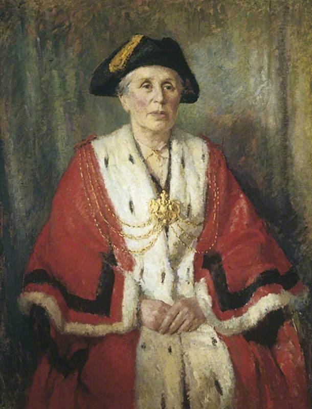 Miss J. B. Kitson, JP, Lord Mayor of Leeds (1942–1943)