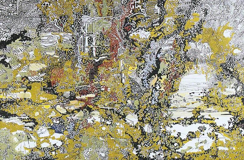 Landscape through Trees