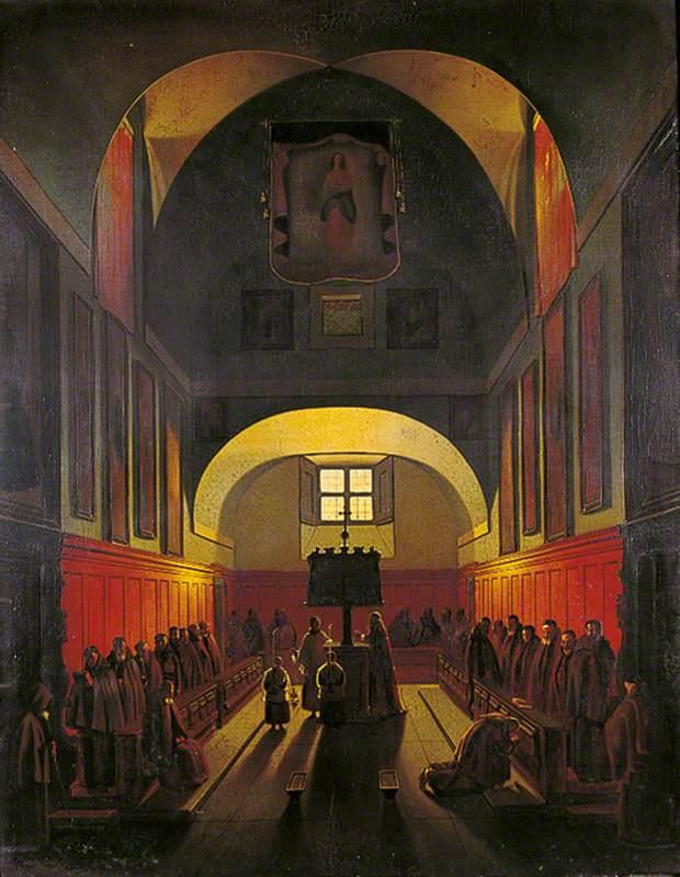 Choir of the Capuchin Friars, Rome