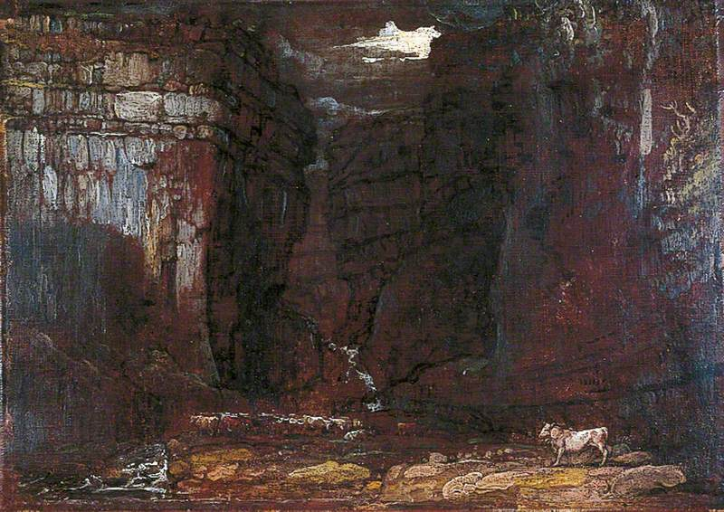 Study for 'Gordale Scar'
