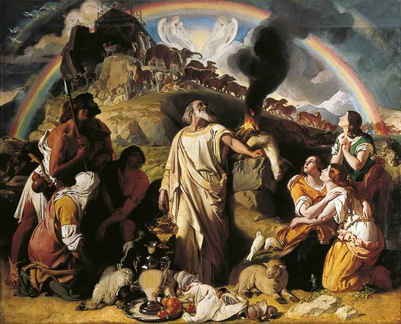 Noah's Sacrifice