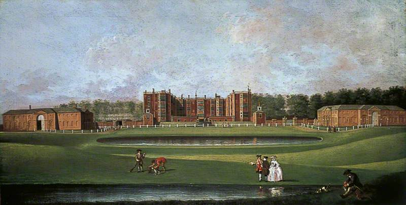View of Temple Newsam House, Leeds