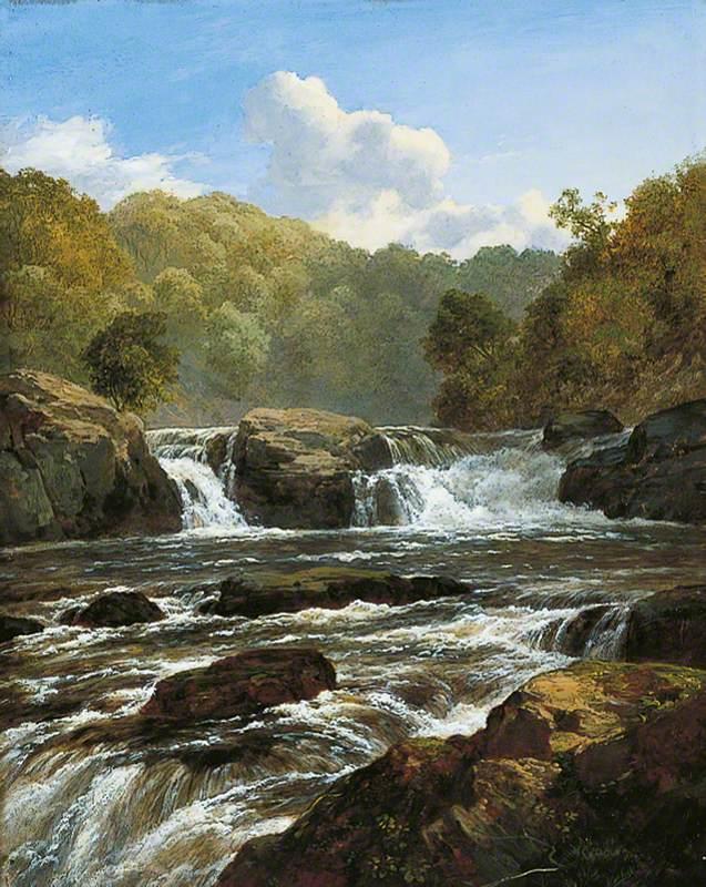 Falls on the Clyde, Bonnington Linn