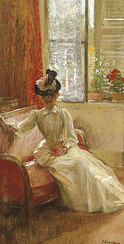 Interior: A Lady