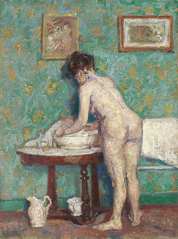 Interior with Nude