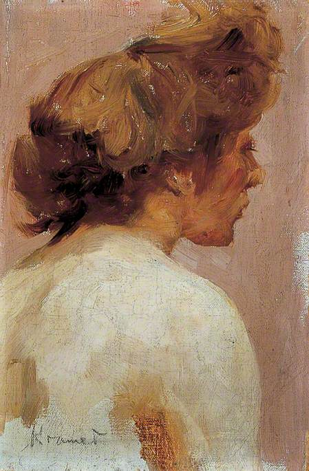 Female Study, Head and Shoulders