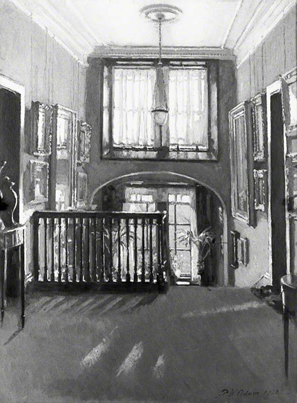 Interior, Rutland Lodge, Potternewton, Leeds: The Staircase Landing