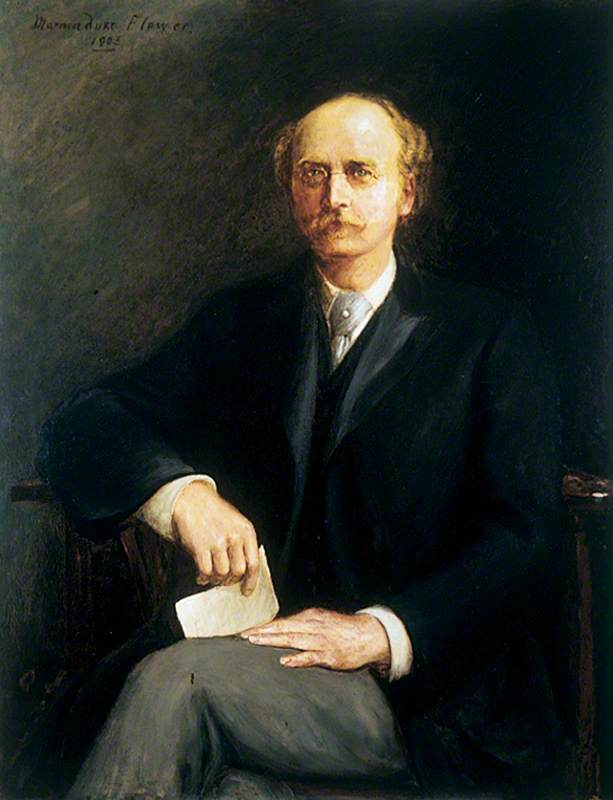 Professor John James Hummel (b.1850), First Professor of Dyeing, Yorkshire College (1880–1902)