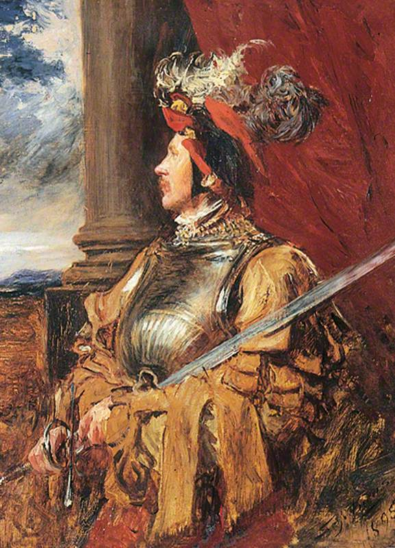 S. J. Whawell in Landsknecht Armour