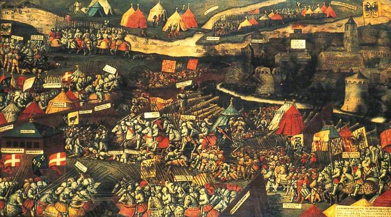 The Battle of Pavia, 24 February 1525