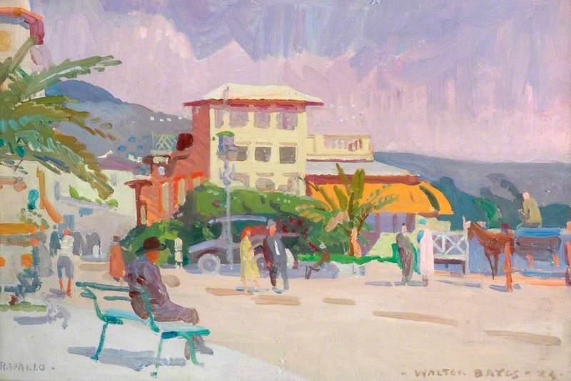 Café at Rapallo