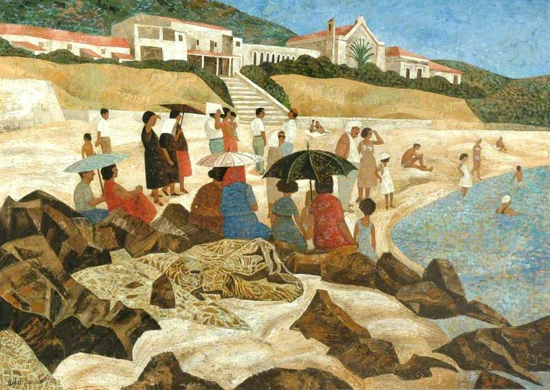 The Free Beach, Taormina, Sicily