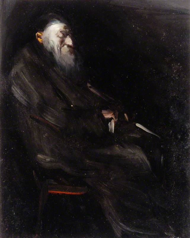 Portrait of an Old Man Seated