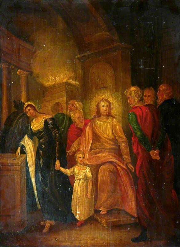 Justice (Christ and the Elders in the Temple)