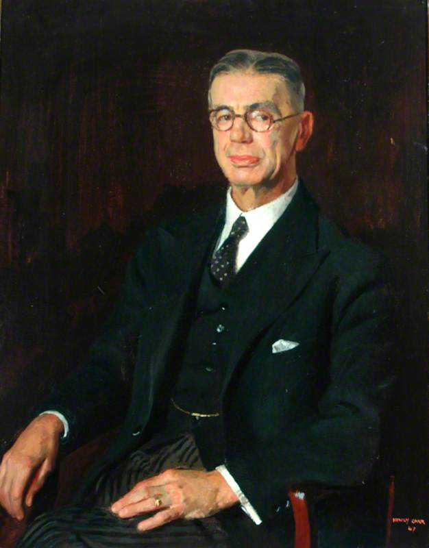 Sir William Cartwright, Chairman of the County Council of the West Riding of Yorkshire (1933–1946)