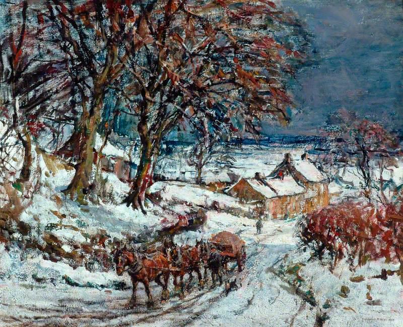 Winter in Ellerby
