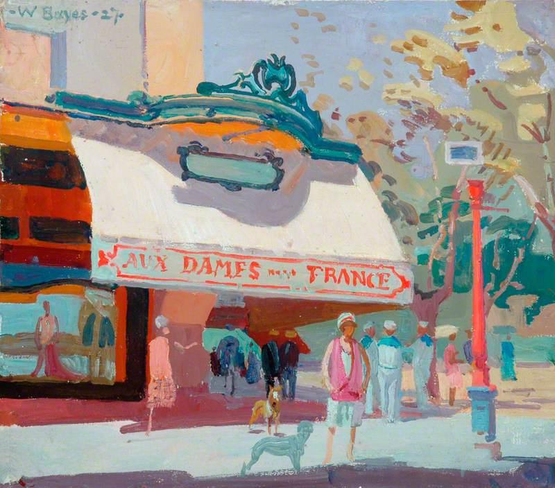 Street Scene ('Aux Dames de France')