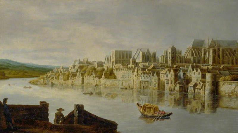 The Thames at Westminster Stairs