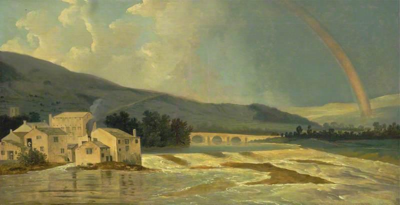 Otley Bridge on the River Wharfe