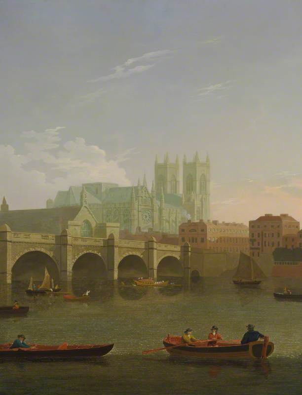 Westminster Abbey and Bridge