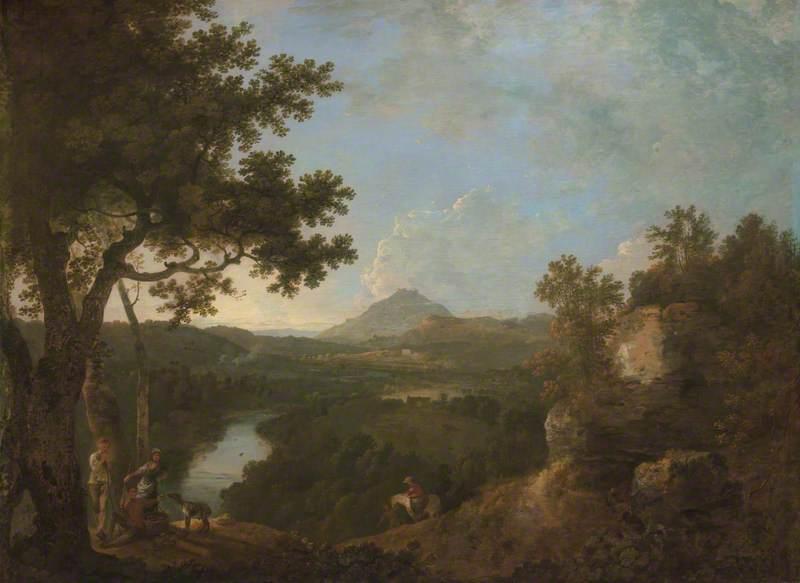 View near Wynnstay, the Seat of Sir Watkin Williams-Wynn, 4th Bt