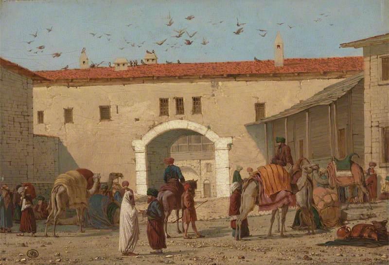 Caravanserai at Mylasa in Asia Minor
