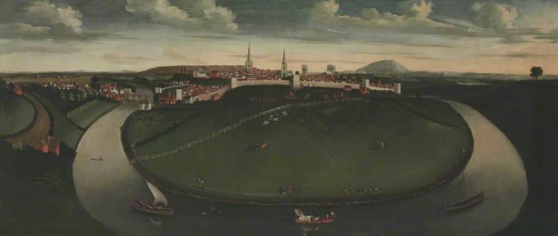 Shrewsbury and the River Severn