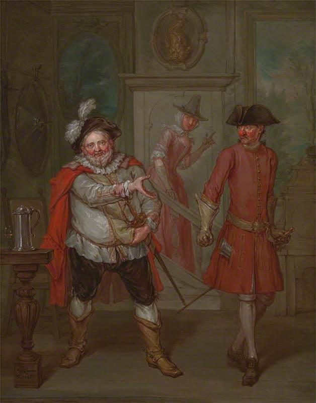 Scene from Shakespeare's 'Henry IV', Part I