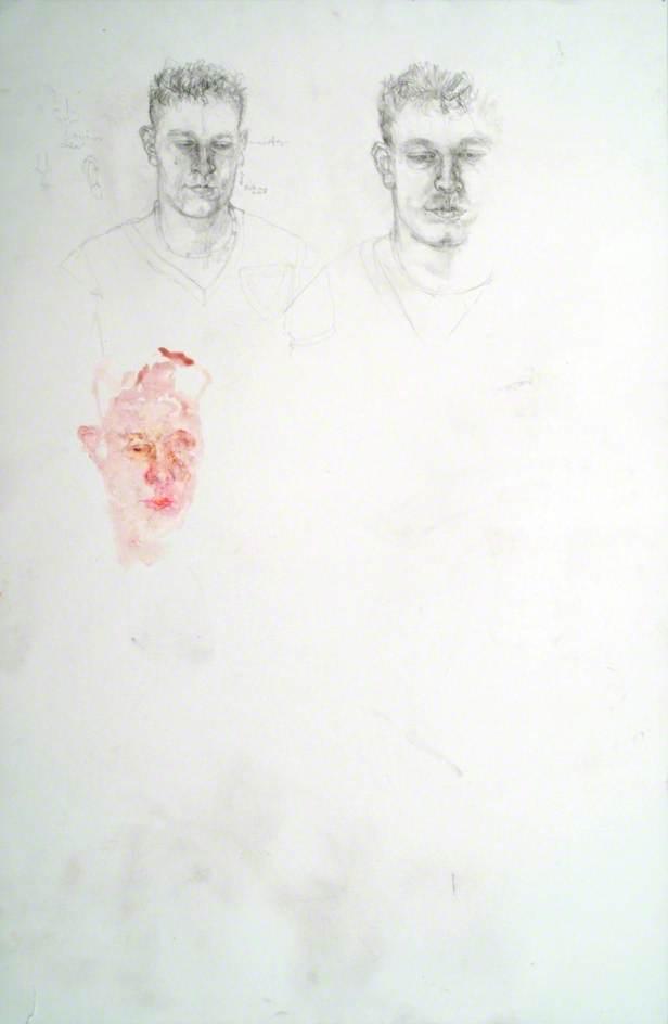 Studies for 'Portrait of Paul Anderson'