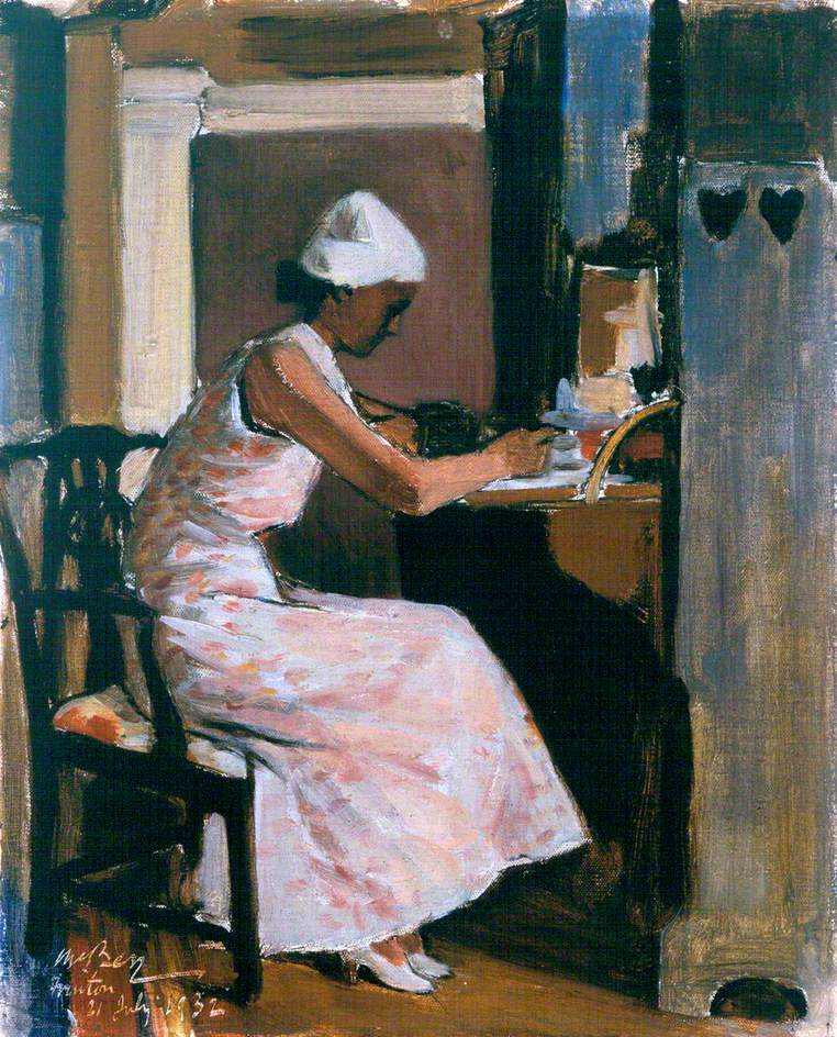 Woman Writing at a Secretaire