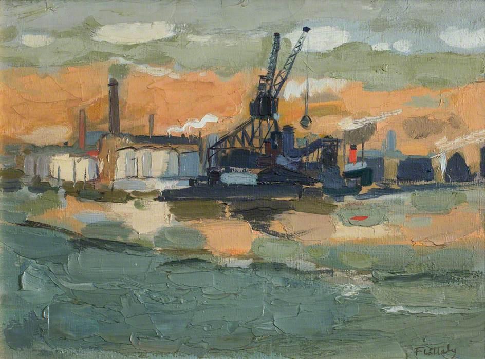 Aberdeen Harbour (Winter)