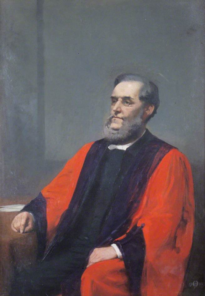 Portrait of a Man in Academic Robes