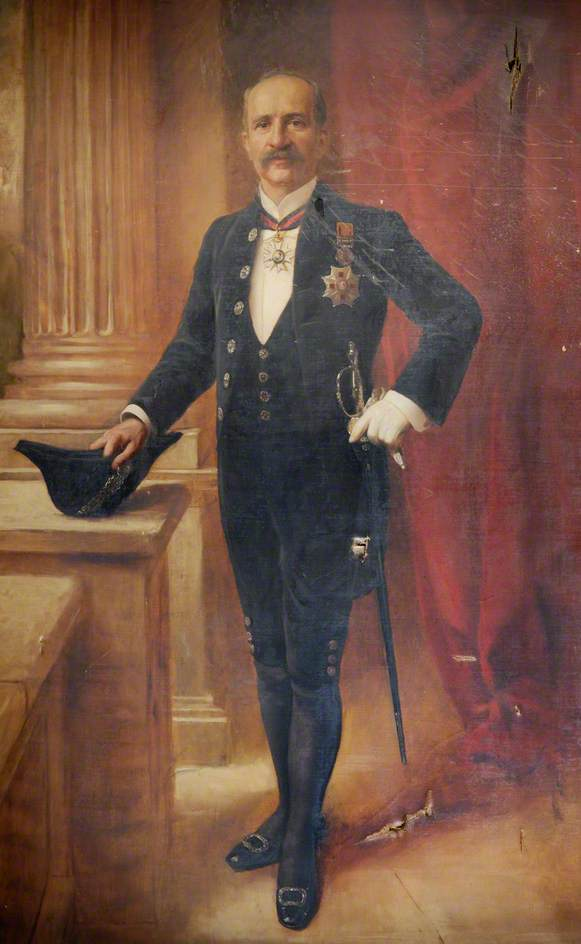 Portrait of a Governor